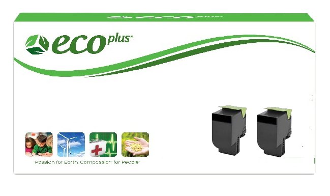 Lexmark 70C1HK0 Two Pack at Everyday Value Pricing
