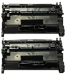 2 BLACK GENERIC CF226A LASER TONER CARTRIDGES - 3.1.K page yield