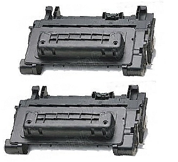 2 BLACK GENERIC CC364A LASER TONER CARTRIDGES - 10K PAGE YIELD