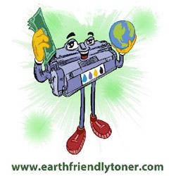 Earth friendly ink toner cartridges