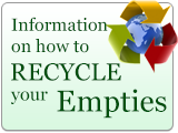 Information about how to Recycle your Empties